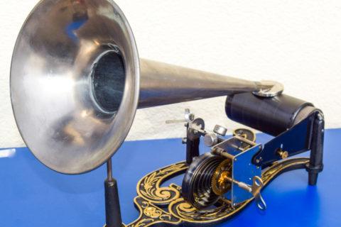 Permalink zu:Restaurierte Phonographen, Polyphone, Spieldosen